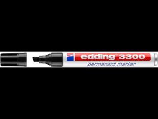 edding Permanentmarker 3300 schwarz Keilspitze 1-5 mm