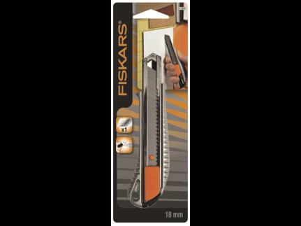 Fiskars Cutter Metall Pro 18mm Rumpf und Messer aus Metall