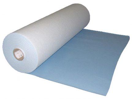 Abdeckvlies Protect A blue 100 cm x 50 m Oberfläche mit PE-Folie blau Dicke 30 my