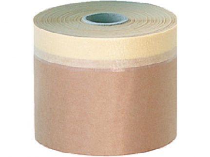 SpeedyMask-Papier 18 cm x 20 m, mit Kreppklebeband, 60°C hitzebeständig