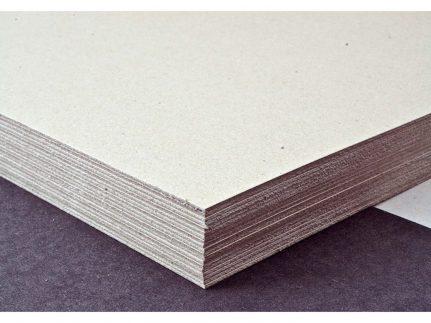 Graukarton 800 gm2, 75 x 115 cm auf Paletten-Typ Nr. 4, ungebündelt, SB