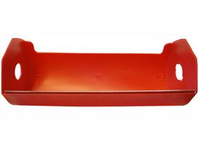 Dispenser für Abdeckfolienrollen für Rollen bis 20 cm, mit Dorn zur