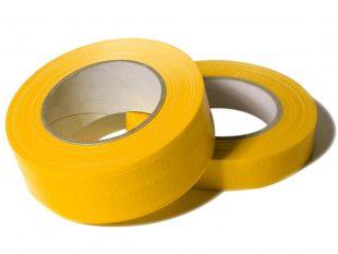 PE-Gewebeklebeband Premium Duct Tape 48 mm x 50 lfm, gelb, PE-Trägerfolie